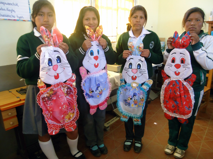 See why these students are showing off these creative bunnies -- click here!